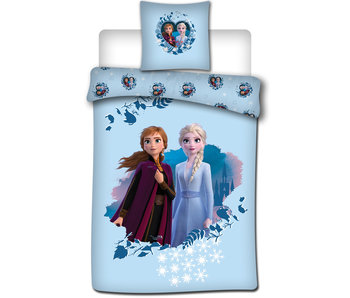 Disney Frozen Housse de couette 140x200 + 65x65cm Flanelle