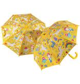 Floss & Rock Regenboog Elfje Paraplu - Verandert van kleur!