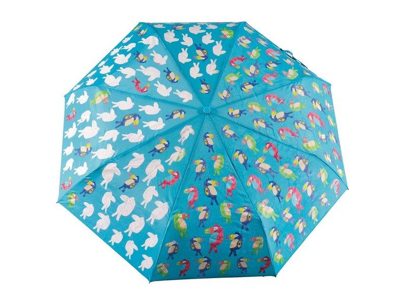 Floss & Rock Parapluie Toucan - Change de couleur!