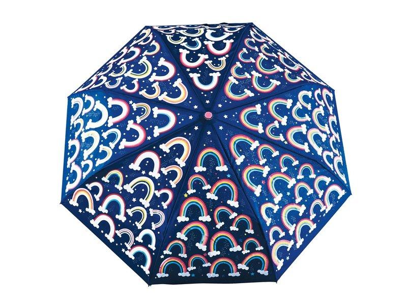 Floss & Rock Regenboog Paraplu - Verandert van kleur!