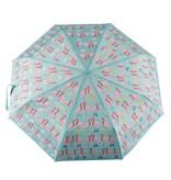 Floss & Rock Parapluie Flamingo - Change de couleur!