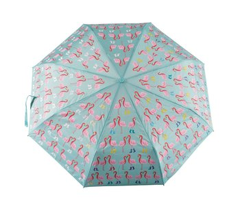 Floss & Rock Parapluie flamant rose