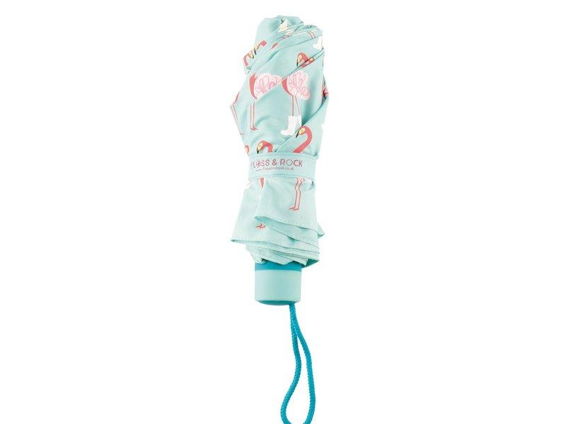 Floss & Rock Flamingo Paraplu - Verandert van kleur!