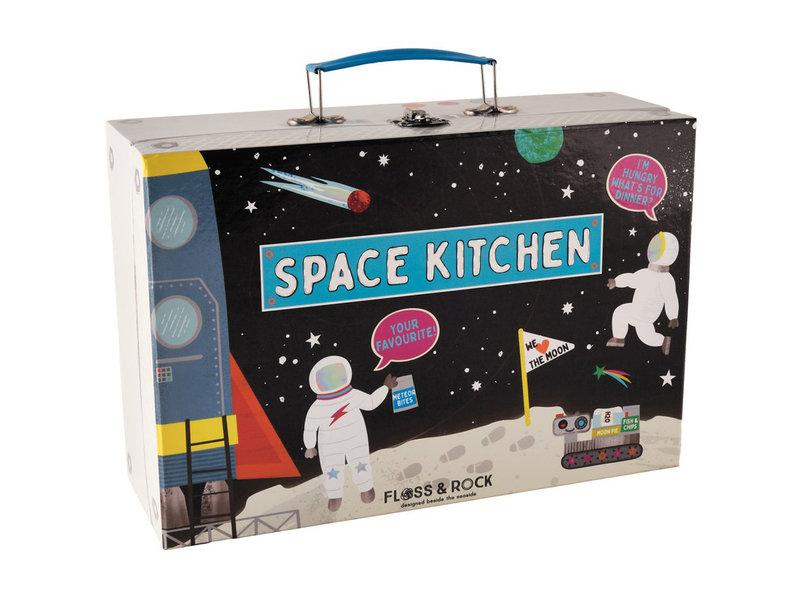 Floss & Rock Kitchen set Space - 10 pieces - Multi