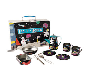 Floss & Rock Kitchen set Space - 10 pieces