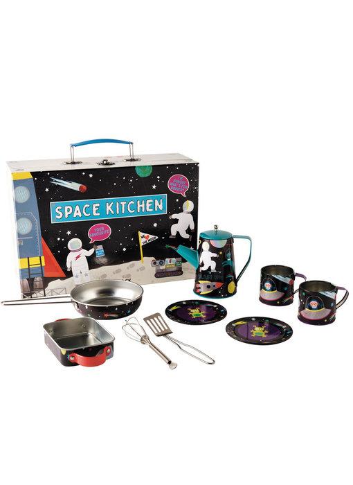 Floss & Rock Kitchen set Space - 10 pieces