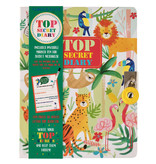 Floss & Rock Journal de la jungle - Comprend un verrou et un stylo - Multi
