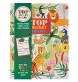 Floss & Rock Jungle Dagboek - Inclusief Slot en Pen - Multi