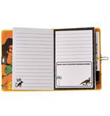 Floss & Rock Dinosaurus Dagboek - Inclusief Slot en Pen - Multi