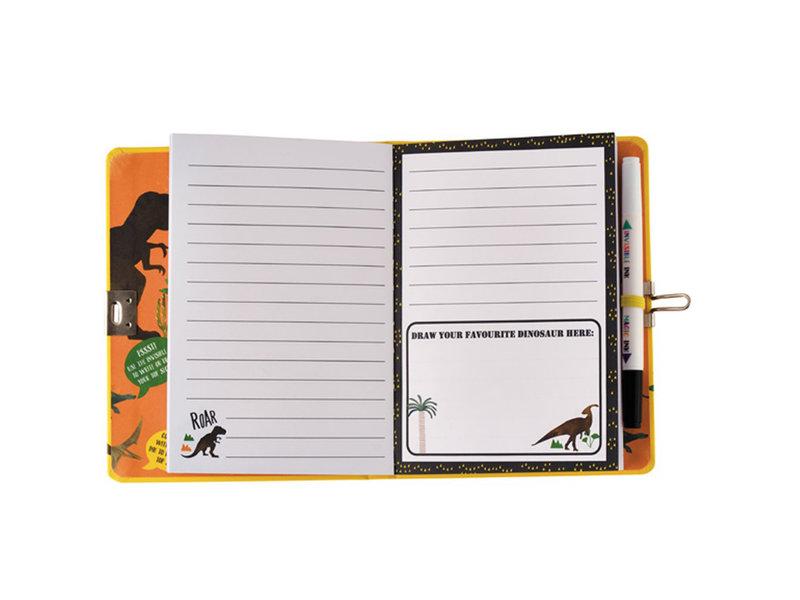 Floss & Rock Journal de dinosaure - Comprend verrou et stylo - Multi