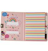 Floss & Rock Rainbow Fairy Diary - Includes Lock and Pen - Multi