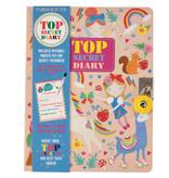 Floss & Rock Rainbow Fairy Diary - Comprend un verrou et un stylo - Multi
