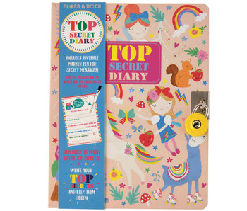 Floss & Rock Diary Rainbow Fairy including Lock and Pen