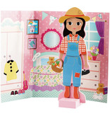 Floss & Rock Sophia magnetic dress up doll - 48 pieces