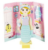 Floss & Rock Millie Magnetic Dress Up Doll - 40 pieces