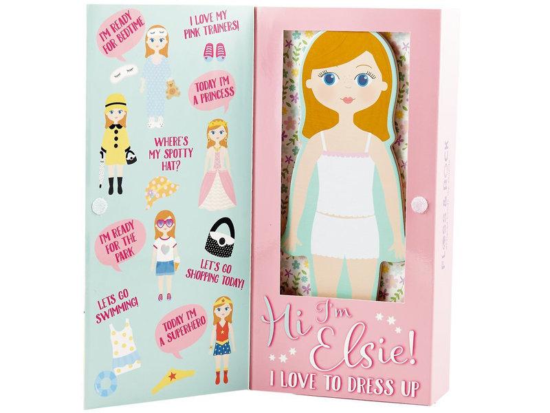 Floss & Rock Elsie magnetische aankleed pop