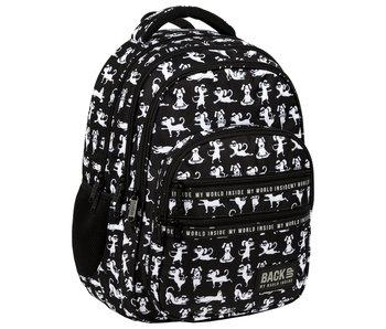 BackUP Backpack Yoga Dogs 42 cm
