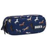 Back Up Horses - Case - 23 x 9 x 5.5 cm - Multi