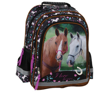 Animal Pictures Backpack Horses 38 cm