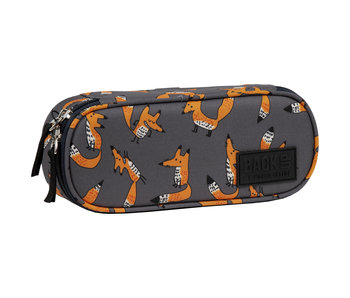 Back Up Pencil case Foxes 23 x 9 x 5.5