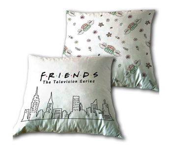 Friends Kissen Skyline 35 x 35 cm