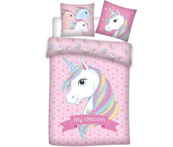 Unicorn Dekbedovertrek 140 x 200 cm Polyester
