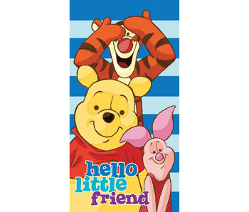 Disney Winnie the Pooh Strandlaken Little Friends 70 x 140 cm 100% katoen