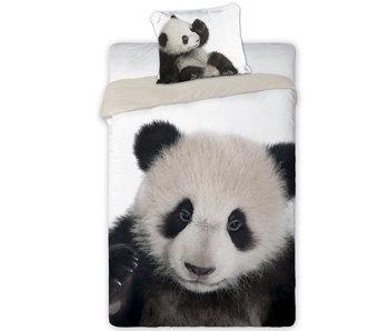 Animal Pictures Housse de couette Panda 140 x 200 cm