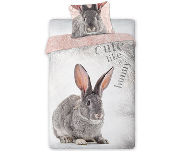Animal Pictures Bettbezug Kaninchen 140 x 200 cm