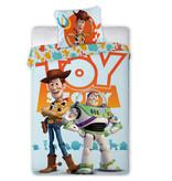 Toy Story Woody & Buzz - Dekbedovertrek - Eenpersoons - 140 x 200 - Multi