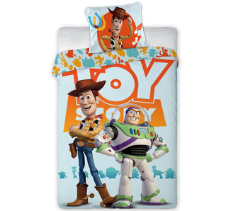 Toy Story Dekbedovertrek Woody & Buzz 140 x 200 cm