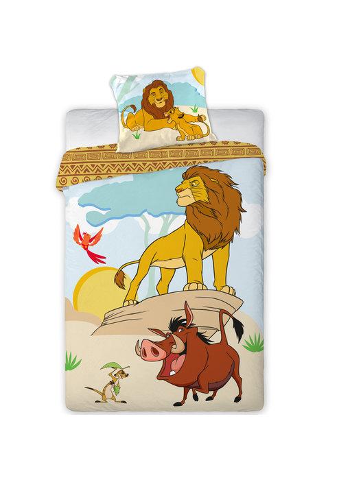 Disney The Lion King Dekbedovertrek Mufasa 140 x 200 cm