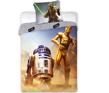 Star Wars R2-D2 Duvet cover - Single - 140 x 200 + 70x90cm. 100% cotton