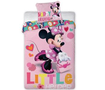 Disney Minnie Mouse Dekbedovertrek Little Helper - Eenpersoons - 140 x 200 cm