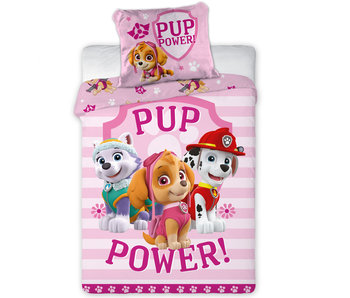 PAW Patrol Housse de couette Pup Power Baby 100 x 135 + 40 x 60 cm 100% coton