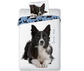 Animal Pictures Bettbezug Border Collie 140 x 200 cm