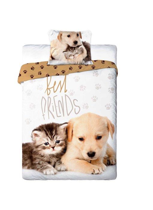 Animal Pictures Duvet cover Best Friends 140 x 200 cm