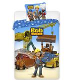 Bob de Bouwer Team Spirit - Dekbedovertrek - Eenpersoons - 140 x 200 cm - Multi