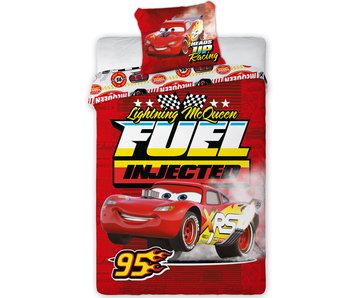 Disney Cars Dekbedovertrek Fuel - Eenpersoons - 140 x 200 cm