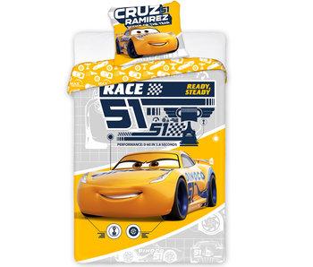Disney Cars Dekbedovertrek  Cruz Ramirez - Eenpersoons - 140 x 200 cm