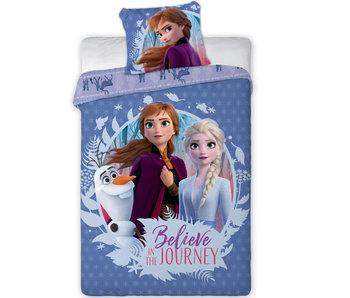 Disney Frozen Duvet cover Believe in the Journey 140 x 200 cm