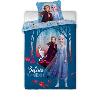 Disney Frozen Housse de couette Believe 140 x 200 cm