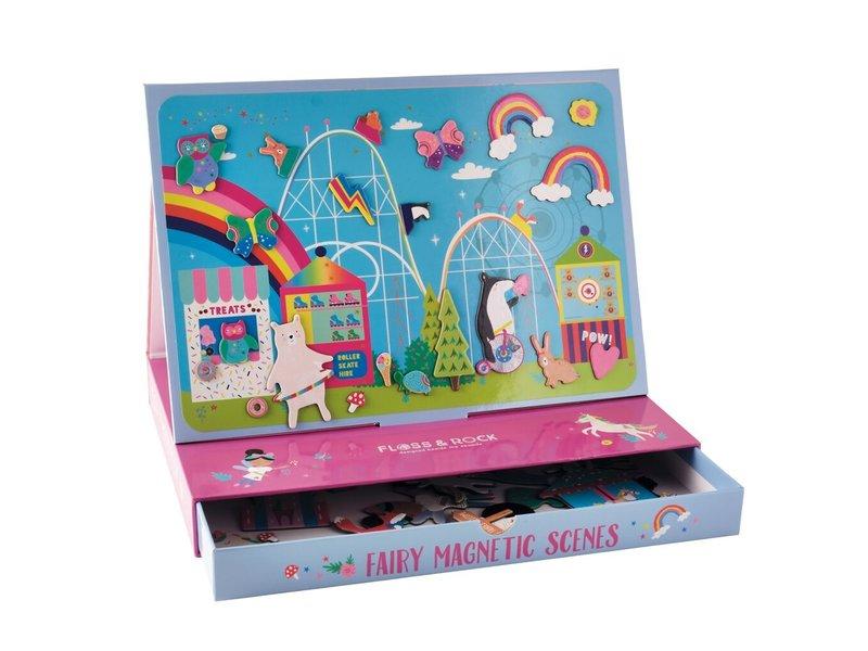 Floss & Rock Magnetic landscape Rainbow Fairy - 50 pieces
