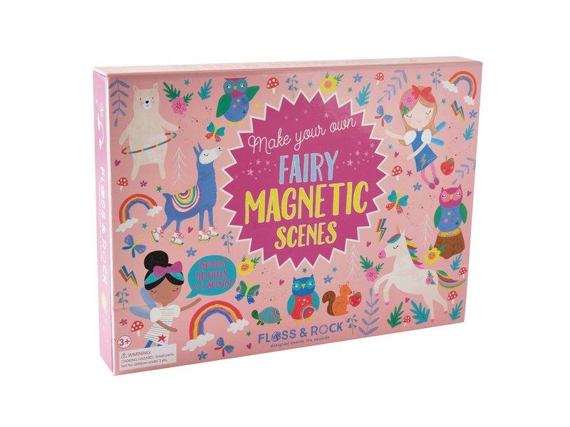 Floss & Rock Magnetisch landschap  Rainbow Fairy - 50 stukjes
