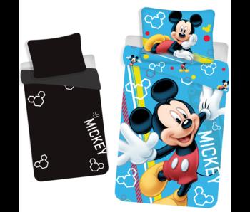 Disney Mickey Mouse Housse de couette Glow in the Dark 140x200 + 70x90cm
