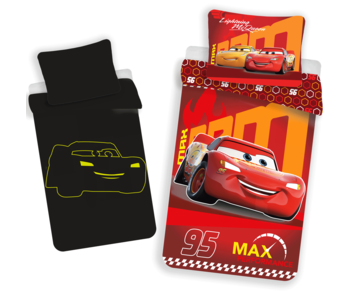 Disney Cars Bettbezug Glow in the Dark 140x200 + 70x90cm