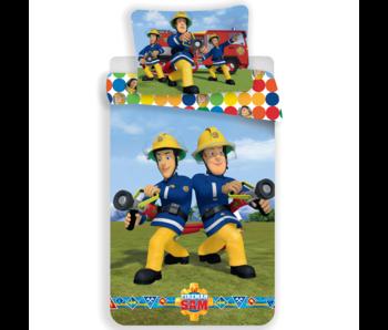 Brandweerman Sam Duvet cover Dots 140 x 200