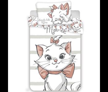 Disney Aristocats BABY Bettbezug Weiß 100x135 + 40x60cm 100% Baumwolle