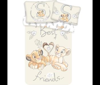 Disney The Lion King BABY Bettbezug Best Friends 100 x 135 + 40 x 60 cm 100% Baumwolle