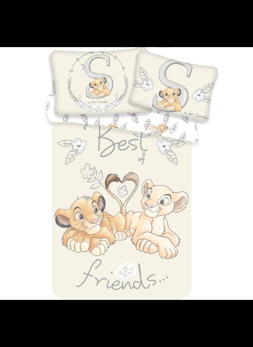 Disney The Lion King BABY duvet cover Best Friends 100 x 135 + 40 x 60 cm 100% cotton